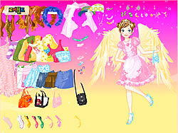 Gioca gratuitamente a Fashion Angel Dress Up