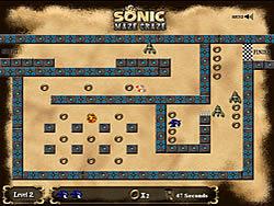 Juega al juego gratis Sonic Maze Craze
