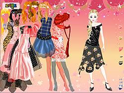 Gioca gratuitamente a Funky Dresses Dress Up