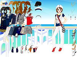 Gioca gratuitamente a Navy Girl Dress Up