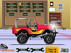 Gioca gratuitamente a Pimp My Jeep