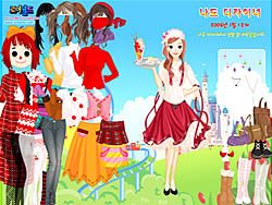 Dream Park Dressup game