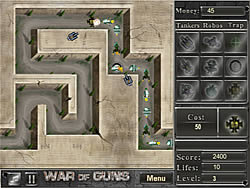 War of Guns game