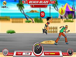 Jogar jogo grátis Beach Blaze