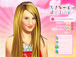 Makeup Ashley Tisdale  joc
