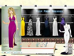 Jogar jogo grátis Flip Prom Dresses