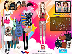 Bold Berry Lips Dressup game