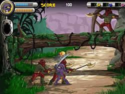 玩免费游戏 3 Foot Ninja II