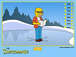 Simpson Maker game