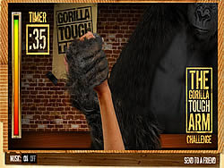 juego The Gorilla Tough Arm Challenge