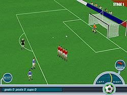 Gioca gratuitamente a Baggio Magic Kicks