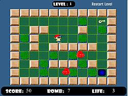 玩免费游戏 Bomber Kid Game