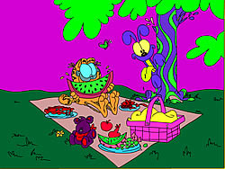 Garfield Online Coloring game