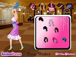 Flamenco Dancer Dressup game