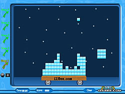 Jogar jogo grátis Build the Ice Blocks