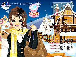 Ski Girl Make Up game