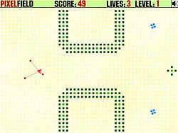 Pixel Field game
