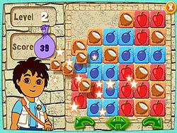 Gioca gratuitamente a Diego's Puzzle Pyramid