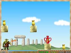 Vase Breaker game