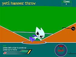 Yeti Hammer Throw game