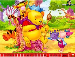 Spielen Sie das Gratis-Spiel  Hidden Numbers - Winnie The Pooh