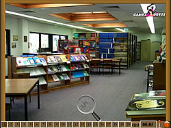 Hidden Numbers - Library game