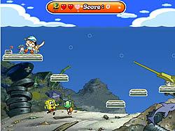 Gioca gratuitamente a Spongebob and the Treasure