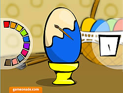 Painted Eggs game