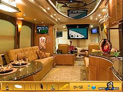 Permainan Hidden Objects - Luxury Bus