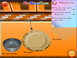 Jogar jogo grátis Chicken Pot-Pie