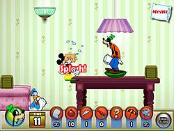 Gioca gratuitamente a Mickey And Friends in Pillow Fight