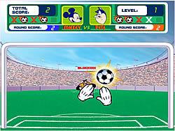 Mickey's Soccer Fever game