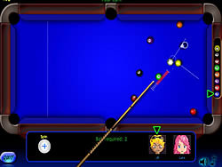 Permainan Billiard Blitz 3 Nine Ball