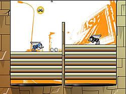 Athlete Balls n Walls game