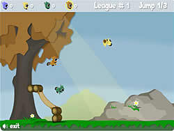 Rodent Tree Jump game