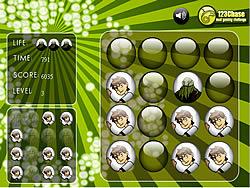 Ben 10 Memory Balls game