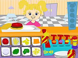 Kids Burger game