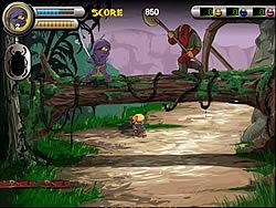 juego 3 Foot Ninja I - The Lost Scrolls