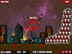 Играть бесплатно в игру Flaming Zombooka 2