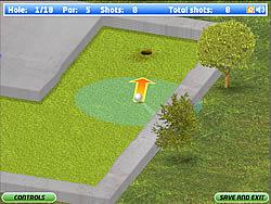 Juega al juego gratis Eagle Minigolf