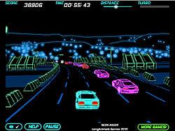 Играть бесплатно в игру Neon Race
