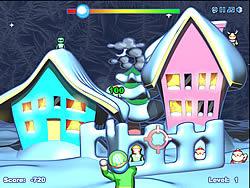 Juega al juego gratis Snow Fortress Attack 2