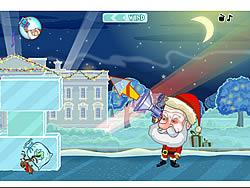 Juega al juego gratis Obama vs Santa