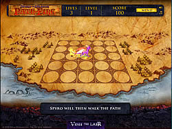 Spyro The Dragon - Path of Fire game