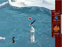 Gioca gratuitamente a Avatar Fire Nation Barge Barrage