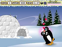juego Penguin Kissing