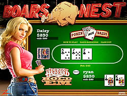The Dukes of Hazzard Hold 'Em game