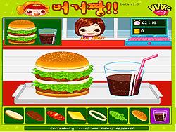 Burger Zang game