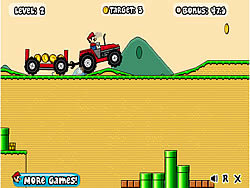 Mario Tractor game
