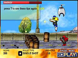 Robo Slug game